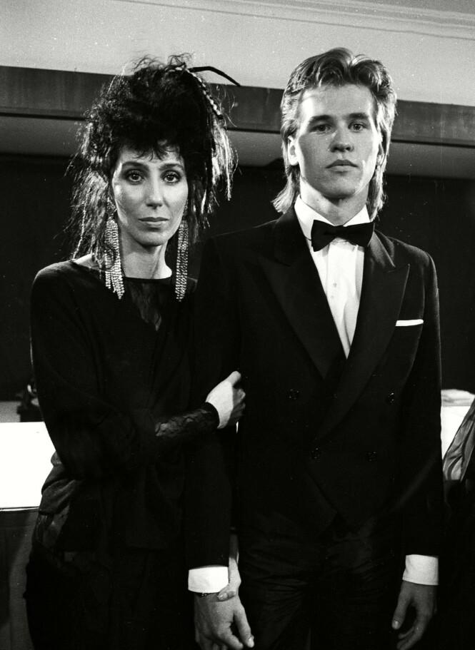<strong>IKONISK:</strong> Kilmer var bare 21 år da han forelsket seg i Cher. Foto: NTB scanpix