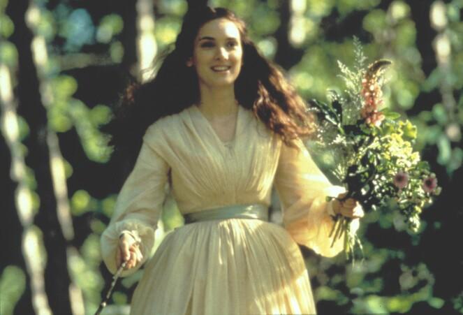 USKYLDSREN: På lerretet var Winona plettfri og skjønn, her fra «Little Women», men allerede tidlig i karrieren merket hun at presset begynte å tære på, og snart møtte hun veggen. FOTO: NTBScanpix