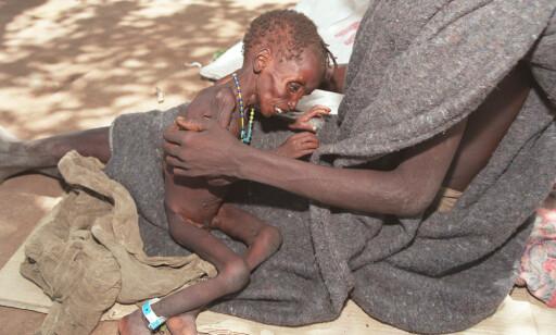 WFP advarer mot sultkatastrofe av bibelske proporsjoner som følge av koronapandemien, bland annet i Sør-Sudan der over 60 prosent av befolkningen gikk sultne til sengs i fjor. Foto: Nils- Inge Kruhaug / NTB scanpix