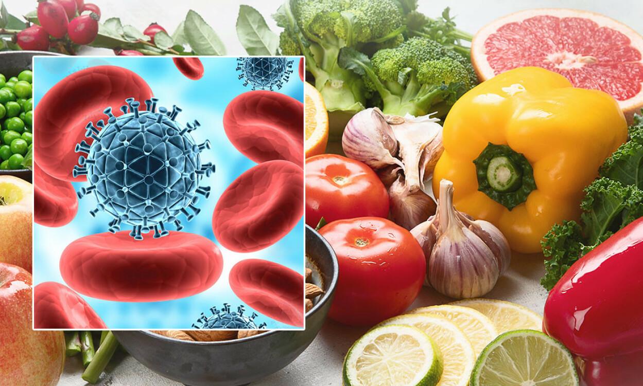 IMMUNFORSVARET har som resten av kroppen godt av sunn mat som frukt og grønnsaker. Foto: NTB Scanpix / Shutterstock