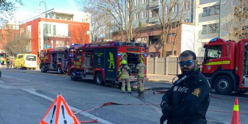 image: Brannvesenet refser filming av dødsbrann