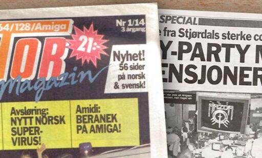 image: Slik hacka vi i Norge på 90-tallet