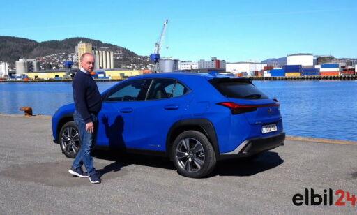 image: TEST:Vi fikk prøvekjøre elbilen Lexus UX 300e