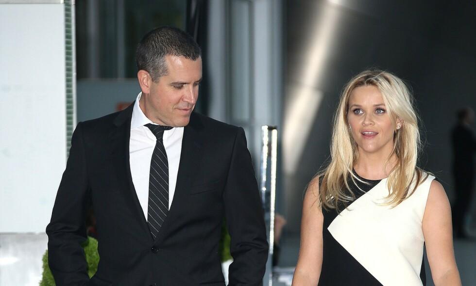 ÆRLIG: Reese Witherspoon snakker ærlig ut om en hendelse for syv år siden, der hun og mannen ble arrestert av politiet. Foto: NTB Scanpix