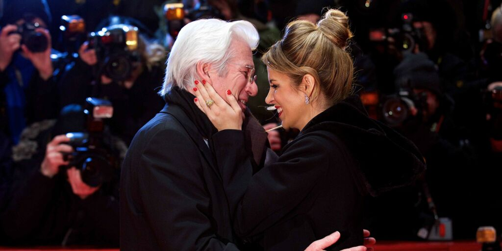 image: Richard Gere (70) ble pappa for tredje gang