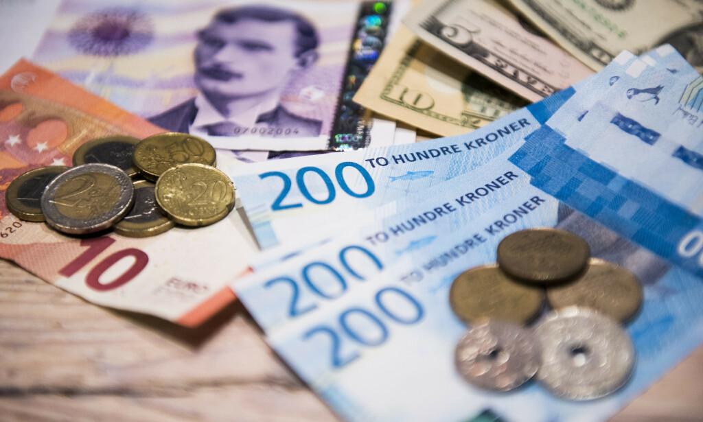 REKORDLAV: Nordmenn har rekordlav tillit til norsk økonomi, ifølge forbrukertillitsindeksen for april. Illustrasjonsfoto: Jon Olav Nesvold / NTB scanpix