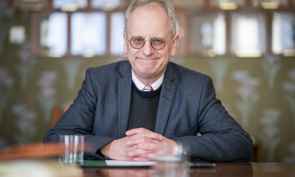 LOVORD: Henrik Syse har kjent Nicolai Tangen siden slutten av 80-tallet. Han er raus med superlativene i beskrivelsen av den påtroppende oljefondsjefen. Foto: NTB Scanpix