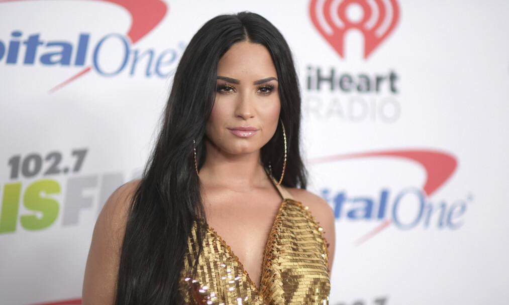 <strong>TOK AFFÆRE:</strong> Demi Lovato har lært seg å sette grenser. Foto: NTB Scanpix