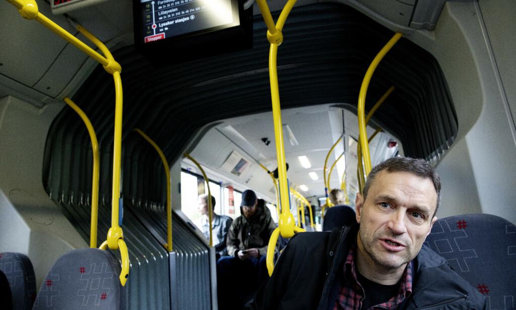 IRRITERT: Arild Hermstad kaller forhandlingene Oslo og Viken har hatt med staten om ny E18 vest for Oslo for et spill for galleriet. Foto: Kristin Svorte
