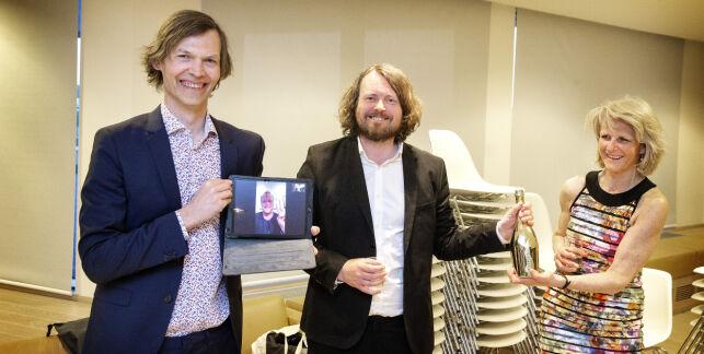 image: SKUP-diplom til Dagbladet