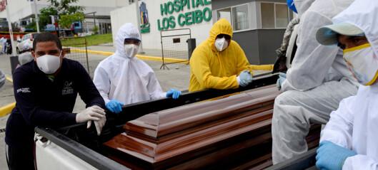 Kvinne (74) erklært død i coronakaos