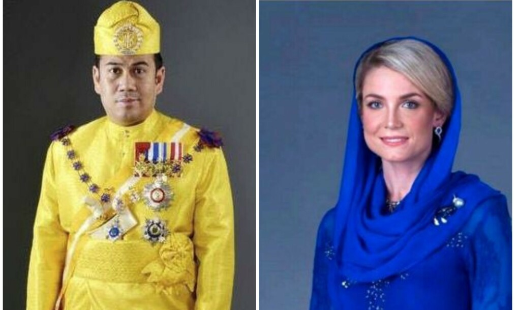 <strong>BRYLLUPSDAG:</strong> Kronprinsen av Kelantan og Sofie Louise Johansson giftet seg i april i fjor. Nå åpner sistnevnte opp om sitt nye liv. Foto: Kelantan Palace