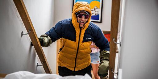 image: Ble lam i 2017. Nå har han klatret «Mount Everest»