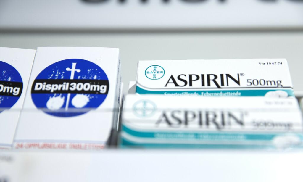 HØY ETTERSPØRSEL: Coronapandemien har ført til stor etterspørsel etter reseptefrie legemidler, noe selskapet Bayer nyter godt av. Foto: Berit Roald / NTB scanpix