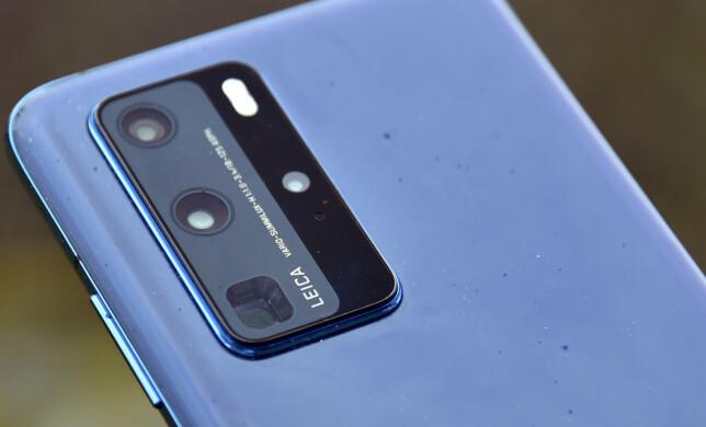 KAMERABEIST: Med store bildebrikker og inntil 5x optisk zoom har Huawei-kameraet mye å by på. Foto: Pål Joakim Pollen