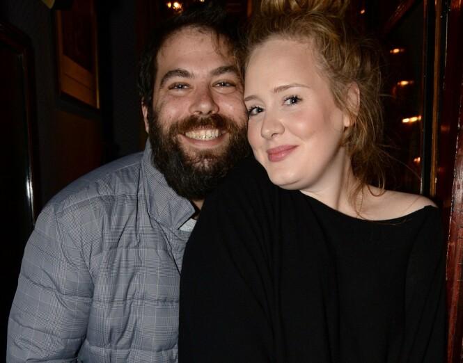 <strong>FORMUE:</strong> Simon Konecki kan trolig stikke av med store summer etter bruddet med Adele i fjor vår. Foto: NTB scanpix