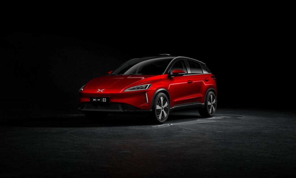 Xpeng G3 vil få en rekkevidde på 450-460 km. Foto: Zero Emission Mobility/ Xpeng.