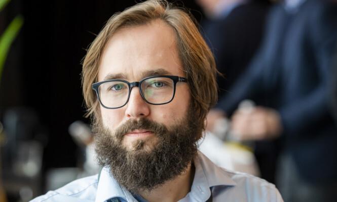 <strong>FORFATTER:</strong> Harald Klungtveit er redaktør i nettstedet Filter Nyheter og forfatteren av boka «Nynazister blant oss». Foto: Håkon Mosvold Larsen / NTB scanpix