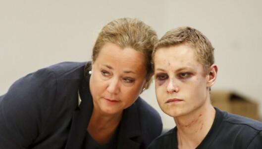 <strong>I RETTEN:</strong> Fries sammen med Manshaus i Oslo Tingrett under fengslingsmøte i fjor. Foto: Vidar Ruud / NTB scanpix