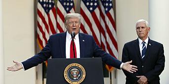 image: Visepresidenten begrenser kontakten