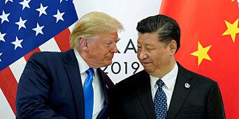image: Trumps kritikk av Kina er ikke helt feil