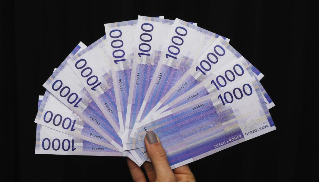 Én av tre nordmenn har allerede fått penger tilbake på skatten. Siste frist for å levere årets skattemeldingen er torsdag 30. april. Foto: Ole Berg-Rusten / NTB scanpix