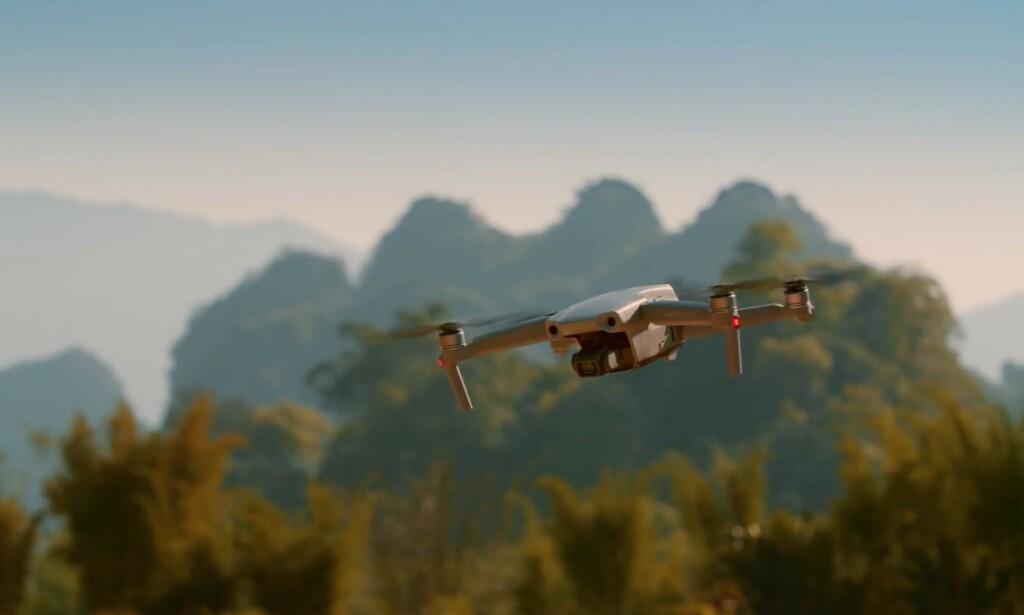 NY MODELL: DJI lanserer nå Mavic Air 2 - oppfølgeren til det som kanskje har vært vår DJI-favoritt til nå. Foto: DJI