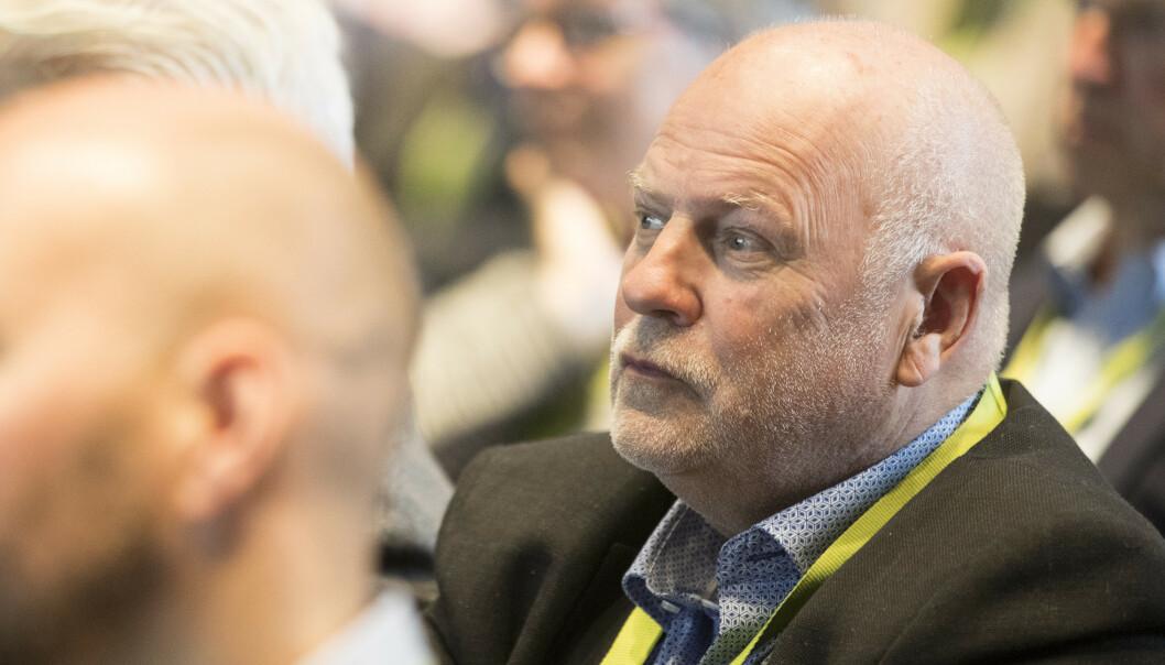 Jan Hanvold er styreleder i i TV Visjon Norge, som eier Visjon TV og Webshop. Her er han fotografert under et debattmøte i 2017. Foto: Håkon Mosvold Larsen / NTB scanpix
