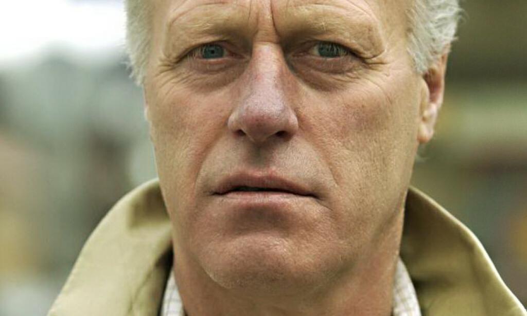 NEKTER STRAFFSKYLD: Tom Hagen nekter for å ha noe med konas forsvinning å gjøre. Foto: Torbjørn Olsen / GD / NTB scanpix