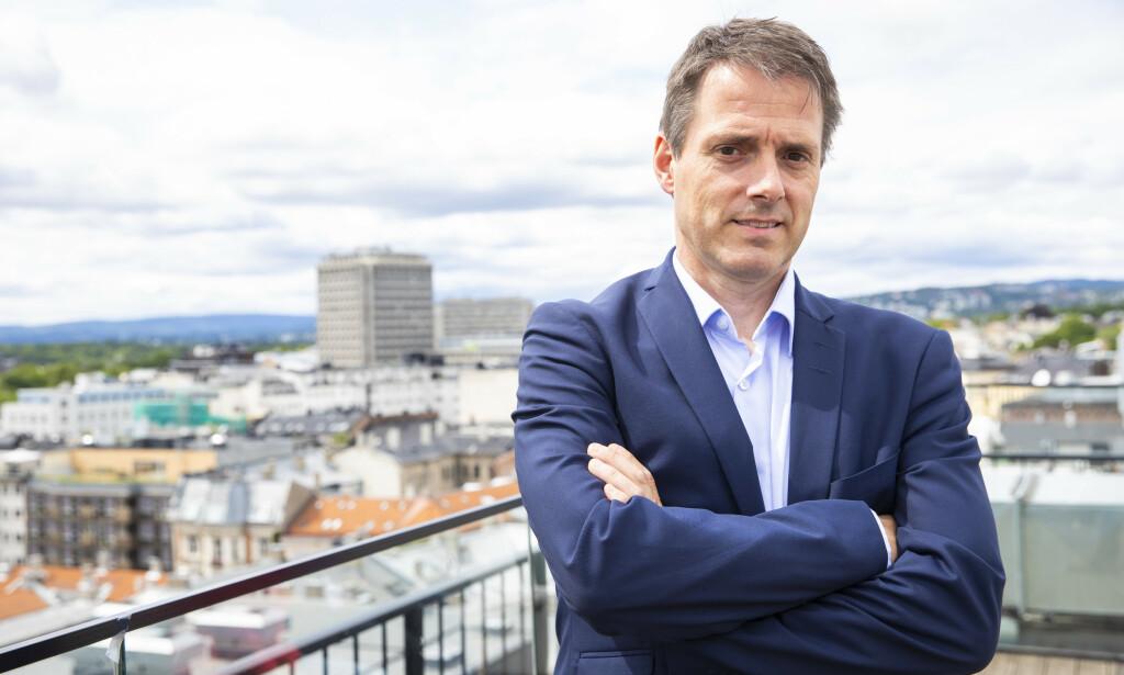 FRYKTER KONKURSER: Direktør Ivar Horneland Kristensen i arbeidsgiverorganisasjonen Virke. Foto: Håkon Mosvold Larsen / NTB Scanpix