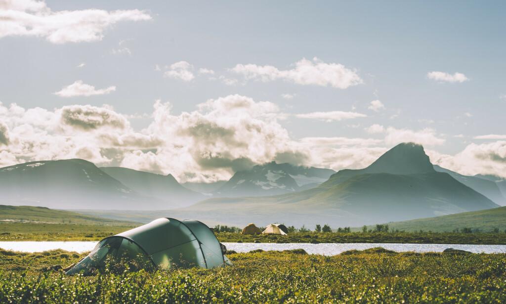 Indre Troms, i nærheten av grensa til Sverige og Finland. Foto: Den Norske Turistforening