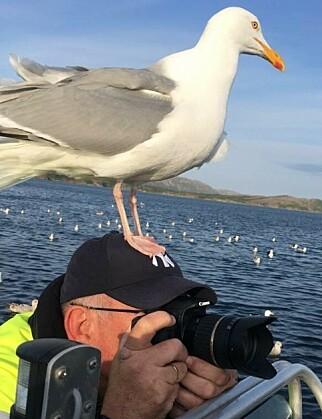 NATURFOTOGRAF: Roald Heirsaunet sier vi er priviligert i Norge som har så fin natur. Foto: Privat