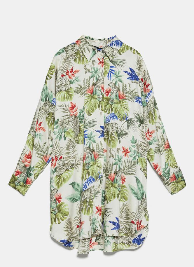 Lang skjorte (kr 360, Zara).