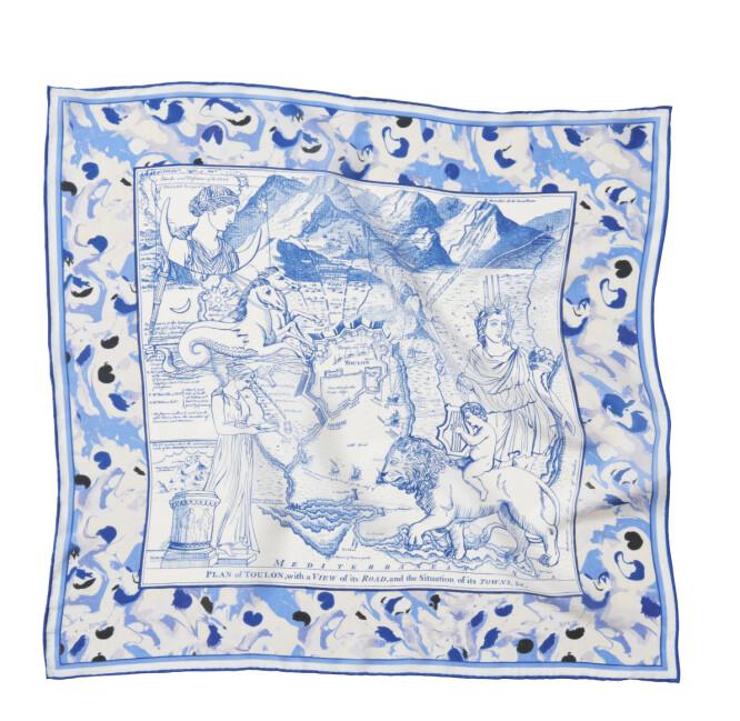 Mønstrete skjerf (kr 200, H&M Consciouas).