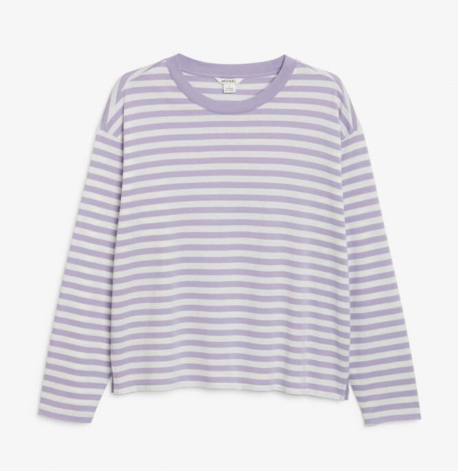 Stripete trøye  (kr 120, Monki).