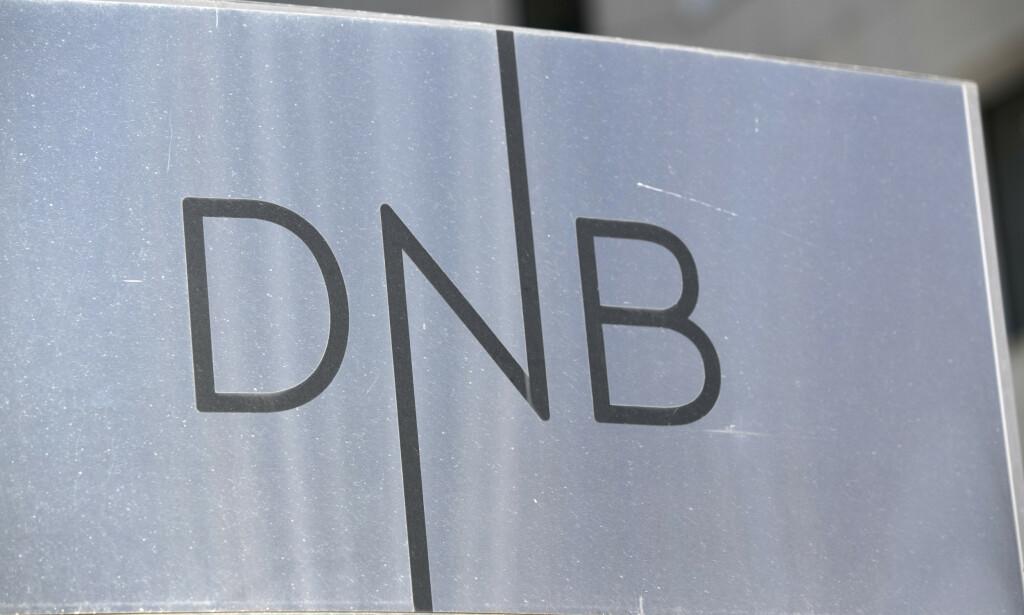 FALL: DNB tjente mindre i første kvartal. Foto: Terje Bendiksby / NTB scanpix