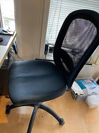 IKEA-stol - kan fungere fint. 📸: Anders Birkenes
