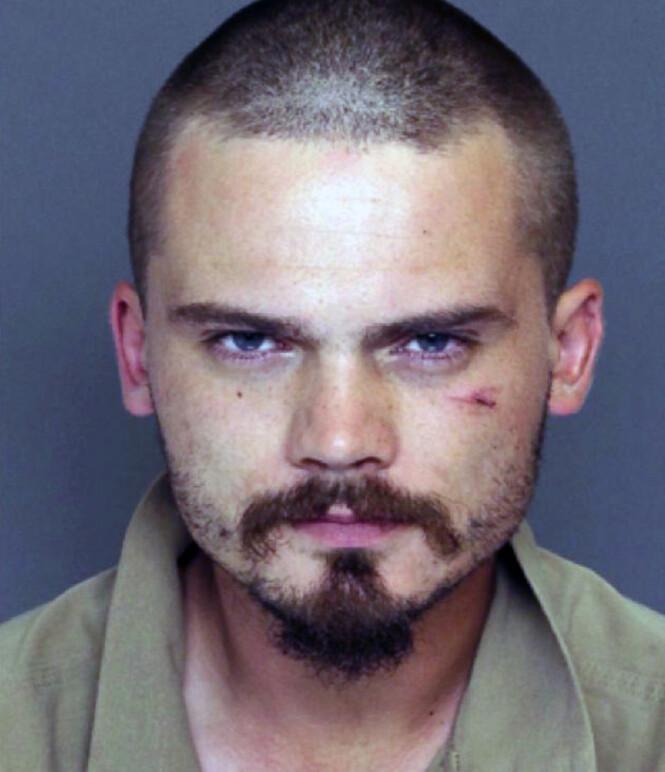 <strong>2015:</strong> Her er Jake Lloyd avbildet kort tid etter arrestasjonen. Foto: NTB Scanpix