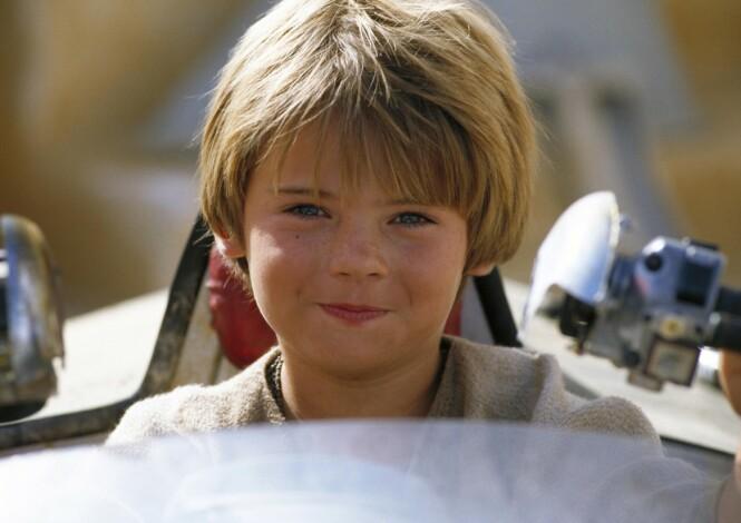 <strong>SØTNOS:</strong> Her er Jake Lloyd avbildet som tiåring i filmen «Star Wars Episode I: The Phantom Menace». Foto: NTB Scanpix