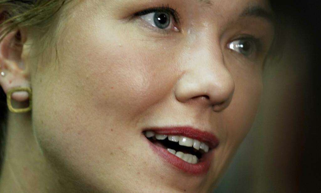 - VISER VI HAR RETT: MDG-leder Une Bastholm mener fallet oljeindustrien opplever nettopp viser at partiet hennes har rett i at Norge er en sårbar råvareeksportør. Foto: Hans Arne Vedlog / Dagbladet