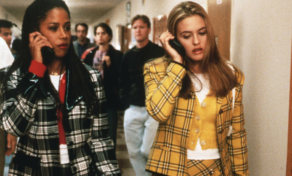 BRUDD: «Clueless»-stjernen Stacey Dash skiller seg for fjerde gang. Her er hun fotografert med Alicia Silverstone i den populære filmen fra 1995. Foto: NTB scanpix