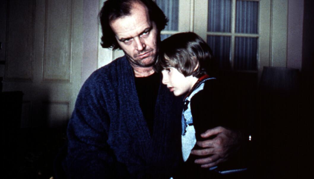 <strong>KOLLEGAER:</strong> Her er Danny Lloyd sammen med Jack Nicholson i filmklassikeren. Foto: NTB Scanpix