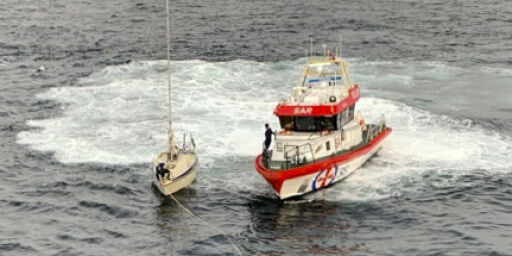 image: Asylsøker i seilbåt kan være fra Russland