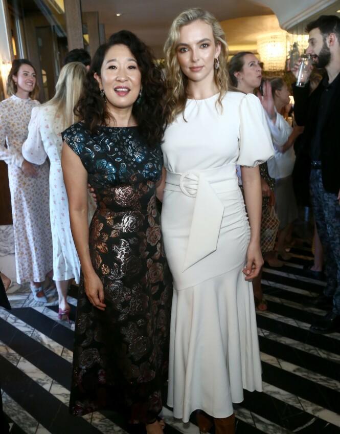 <strong>RADARPAR:</strong> Sandra Oh og Jodie Comer har fått gnistene til å slå fra tv-skjermen. Foto: NTB scanpix