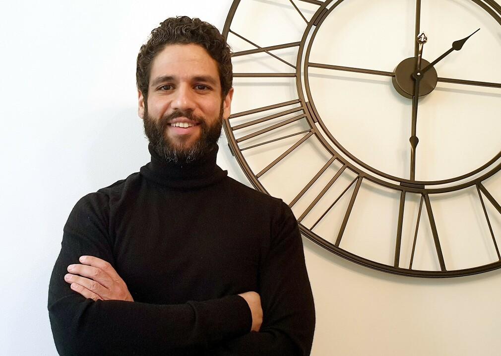 Sirar Salih starter selskapet Winterfell.tech. 📸: Privat