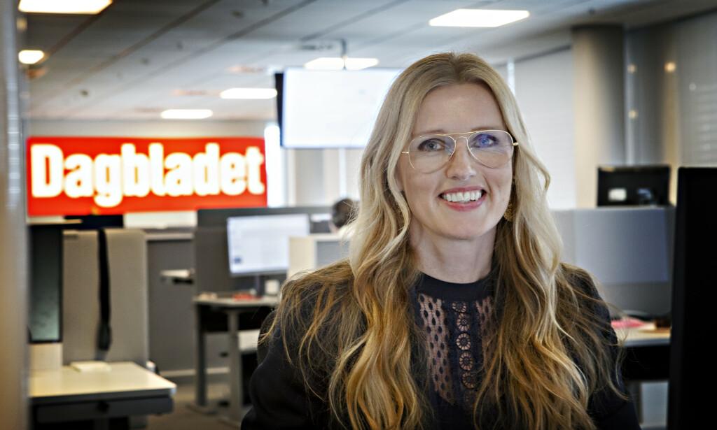 NY STILLING: Redaksjonssjef Hilde Schjerve er kommende redaktør for Magasinet og Pluss i Dagbladet Foto: Frank Karlsen / Dagbladet