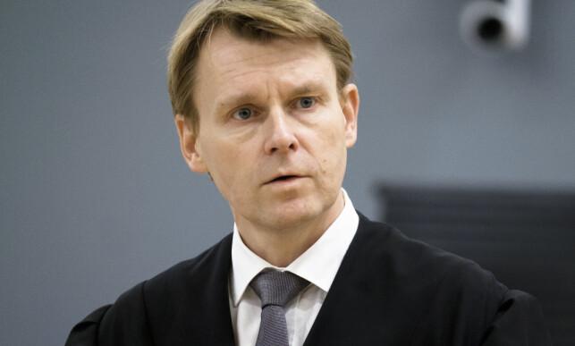 SKAL FÅ HAM DØMT: Statsadvokat Johan Øverberg er aktor under rettssaken mot Manshaus. Foto: Ole Gunnar Onsøien / NTB Scanpix