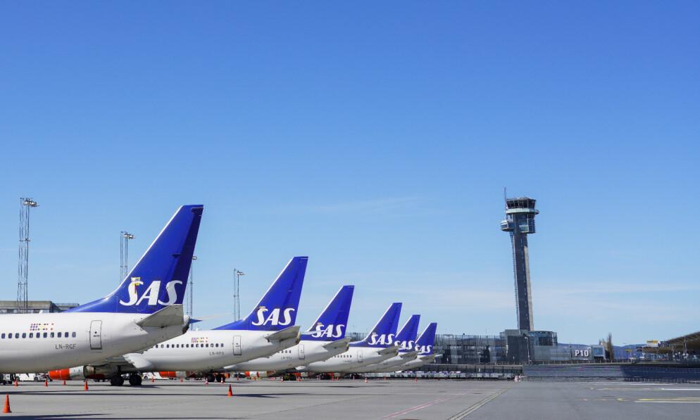 KRISELÅN: SAS får et kriselån på 3,3 milliarder svenske kroner. Foto: Håkon Mosvold Larsen / NTB scanpix