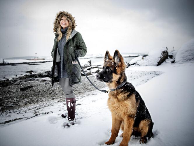 <strong>HELSA FØRST:</strong> Trude Mostue påpeker hvor viktig det er å undersøke nøye når man er på valpejakt. Foto: Nina Hansen / Dagbladet