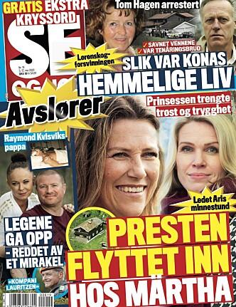 AVSLØRER BOLIGSALG: Les mer om parets leilighetssalg i tirsdagens utgave av Se og Hør. Foto: Faksimile